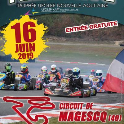 TROPHÉE NOUVELLE AQUITAINE 2019 ÉPREUVE DE MAGESCQ 40 LE 16 JUIN 2019