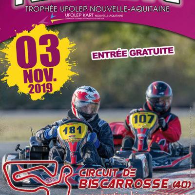 DIXIEME ET DERNIERE EPREUVE DU TROPHEE UFOLEP NOUVELLE AQUITAINE 2019 - BISCARROSSE 40