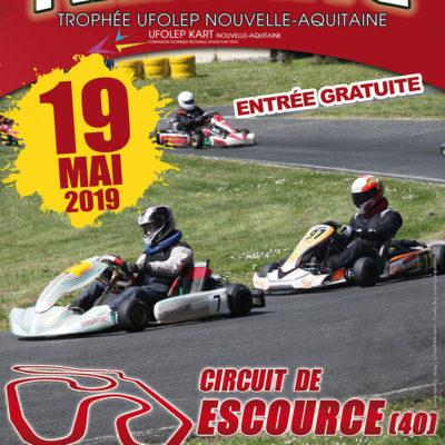 TROPHÉE UFOLEP NOUVELLE AQUITAINE 2019 CINQUIÈME ÉPREUVE ESCOURCE 40